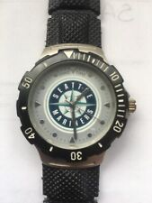 GAME TIME SEATTLE MARINERS SPORTS WATCH BASEBALL MLB MENS Untested. Battery?