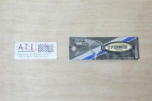 Rare JDM TOM'S Racing Collection Gold Keyring Chain NOS Toyota 86 supra