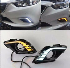 Exact Fit Mazda 6 atenza 2013-2016 White LED DRL Daytime Running Lights Fog Lamp