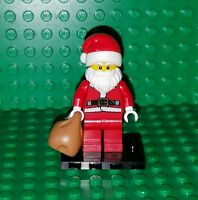 LEGO Collectible Minifigure Santa Claus SERIES 8 Complete w toy sack