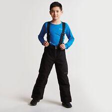 DARE 2B KIDS TAKE ON SKI PANTS BLACK WITH BRACES DKW301