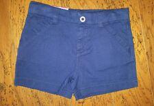Circo Girls Size 4/5 Regular Navy Blue School Uniform Shorts Adjustable Waist
