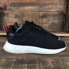 Men's Adidas NMD R2 Black Future Harvest Athletic Shoes Size 10
