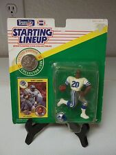 Starting Lineup 1991 Collector Coin Edition Figure Card Barry Sanders  NEW