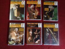 Jazz Icons :Coltrane,Brubeck,Montgomery,Gordon,Mingus all DVD set