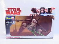 44721 | Revell 03613 Star Wars Republic Gunship 1:172 Level 3 Bausatz NEU in OVP