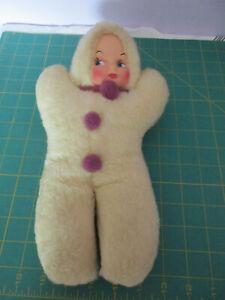 Vintage stuffed fur baby doll