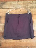 SportHill Women's McKenzie Mini Skirt Size XL Gray Zone 1 Hot Weather Rated NWT
