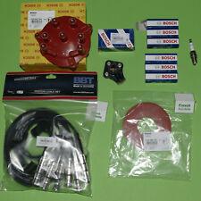 7 Cable Ignición Bbt Bosch Tapa Del Distribuidor Rep Kit Para Mercedes 190 W124