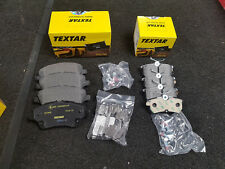 FORD FIESTA 1.0 1.5 1.6 ST180 2.0 MK7 TEXTAR OE QUALITY FRONT + REAR BRAKE PADS