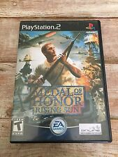 Medal Of Honor Rising Sun PS2 Playstation 2 Game