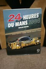 24 HEURES DU MANS 1985 ACO  LE MANS YEARBOOK ANNUAL ENGLISH HARDBOUND EXCELLENT
