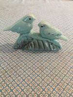 Couple D'oiseaux En Ceramique