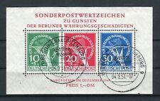 Berlin Block 1 Berliner Währungsgeschädigte gestepelt geprüft (3918)