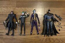 "McFarlane DC Multiverse  BATMAN  ARKHAM ASYLUM  7"" Action Figure & Joker Lot"