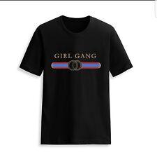 black girl gang slogan t-shirt fashion