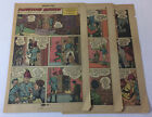 1955 six page cartoon story ~ ANDREW JACKSON AND THE HENRI PLANTATION Dec 1815