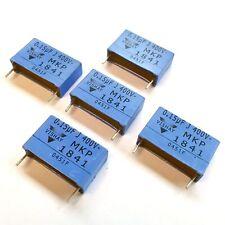 (PKG of 5) 0.15uF 400V MKP Metallized Polypropylene Film Cap, Vishay MKP1841