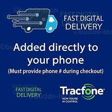 TracFone 3GB DATA ONLY Quick Refill Top-Up Airtime Card PIN # Number Smartphone
