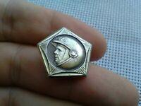 Vintage Badge Pin First cosmonaut Yuri Gagarin,Soviet space program,USSR