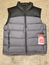 THE NORTH FACE NUPTSE 2 VEST CFEBNHTHR/CFEBN 700 DOWN FILL SZ LARGE NWT