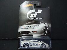 Hot Wheels Jaguar XJ220 White Gran Turismo 1/64