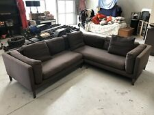 Freedom 5/6 seat modular couch / sofa in dark grey