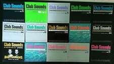 CD Sammlung Sampler Club sounds, Urban Dance, Kontor...23 Stück