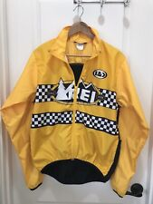 Cycling Jacket Louis Garneau REI Size M Rare Racetrack Print