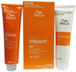 Wella Professionals Straight (N) Straightening Cream Normal to Resistant Hair