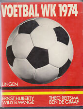 Boek / Book Voetbal WK 1974 / FIFA Soccer World Cup Hardcover
