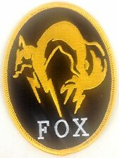 Metal Gear Fox Hound - Force Operation X FOX - Video Game Series Iron-On Patch