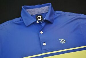 Walt Disney World Golf Polo Shirt FootJoy FJ Men's Medium M