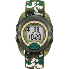 UPC 753048006854 product image for Timex Kids Digital Youth Watch | Green Case with Camoflauge Elastic Strap | upcitemdb.com