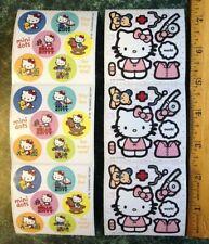 HELLO KITTY Sanrio Dr. Nurse Dress-up Sick Stickers Mini Sheet Lot~Reward Dots