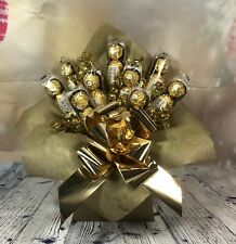 Ferrero Rocher Chocolate Bouquet - Christmas Gift - Thank you birthday Get Well