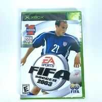 EA Sports FIFA Soccer 2003 Microsoft Original Xbox Video Game New Sealed NIP