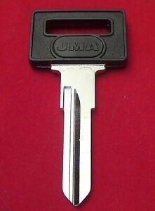 VOLVO VL8-P Master KEY BLANK fits 240 DL GL 1986-93; 740 85-91; 760 & 780 84-87