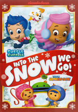 NICKELODEON - BUBBLE GUPPIES - INTO THE SNOW WE GO (DVD)