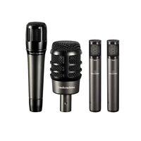 Audio-Technica Artist Series Drum Microphone Set With Case 4 Piece NEW