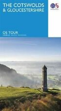 The Cotswold & Gloucestershire 9780319263877 | Brand New | Free UK Shipping