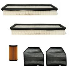 Engine Oil Air Paper Cabin Filter Kit ACDelco Pro for Mercedes R230 W463 V8