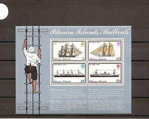 Pitcairn 1975 SG161ms 4v sheet NHM  Pitcairn Mailboats inc Gothic/Athenic