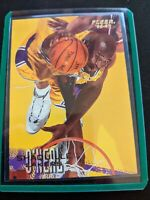 1996-97 Fleer Los Angeles Lakers Basketball Card #206 Shaquille O'Neal