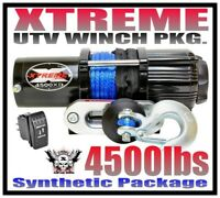 4500LB XTREME UTV WINCH 2014-2019 POLARIS ACE 325/570/900 ACE