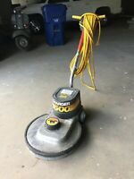 """NSS 20"""" Charger 1500 High Speed Electric Floor Buffer , burnisher >>WORKS<<"""