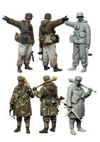 1/35 scale resin model figures kit  WW2 German soldiers