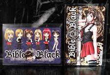 *NEW AUTHENTIC!* BIBLE BLACK Phone Card - set of 2 (Chibi, Imari) - Japan Anime