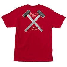 Independent Trucks Hammers Pocket Skateboard Shirt Red Xxl