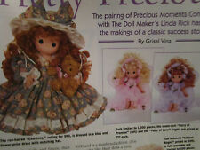 4pg Linda Rick & Precious Moments Doll Magazine Article PRETTY PRECIOUS